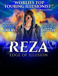 Reza: Edge of Illusion  in Fort Lauderdale