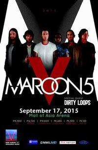 Maroon 5 in Philippines