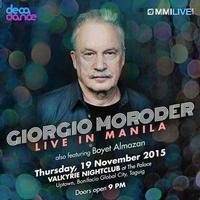 Giorgio Moroder in Philippines