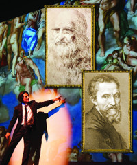 Davinci & Michelangelo Titans Experience in Broadway