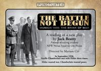 The Battle Not Begun:Munich 1938 in Boston