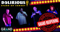 Delirious Comedy Club in Las Vegas Logo
