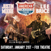 Lee Brice and Justin Moore 2017 'American Made' Tour in Atlanta