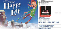 Harry Connick, Jr.'s the Happy Elf in Long Island