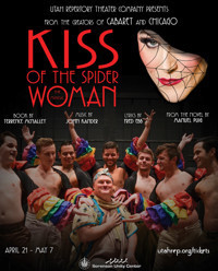 KISS OF THE SPIDER WOMAN in Broadway