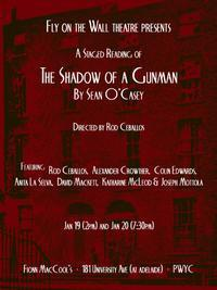 The Shadow of a Gunman by Sean O'Casey - A Staged Reading in Toronto