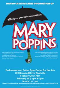 MARY POPPINS in Nashville