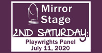 2nd Saturday: Playwrights Panel in Seattle Logo