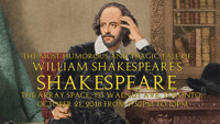 The Most Humorous and Tragic Tale of William Shakespeare's Shakespeare reading in Broadway