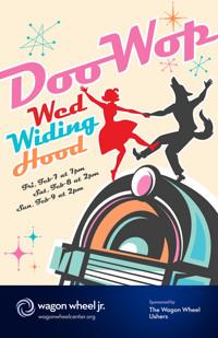 Doo-Wop Wed Widing Hood in Indianapolis