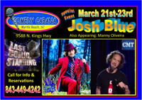 *Special Event* Josh Blue in South Carolina