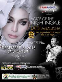 Voice of the Nightingale Lani Misalucha in Philippines