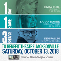 Linda Purl, Ken Fallin and Sarah Boone to Headline Theatre Jacksonville Benefit in Jacksonville