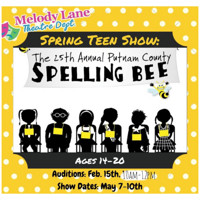 25th Annual Putnam County Spelling Bee AUDITIONS in Ft. Myers/Naples