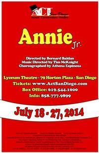 Annie Jr. in Broadway
