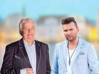 Ivo Linna And Koit Toome in Finland