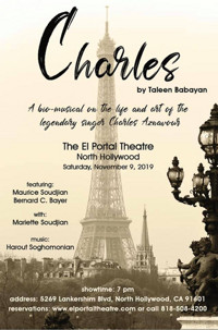 Charles: A Bio-Musical on the Life & Songs of Charles Aznavour in Los Angeles
