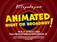 Animated Night on Broadway in Salt Lake City