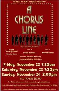 A Chorus Line in Philadelphia