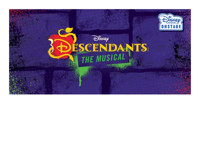 Disney's Descendants: The Musical in Des Moines Logo