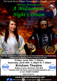 Shakespeare's A Midsummer Night's Dream - Brixham Theatre in UK REGIONAL