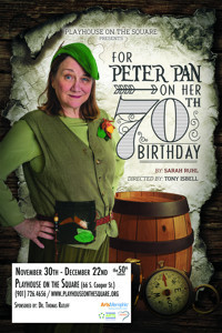 For Peter Pan on her 70th Birthday in Memphis