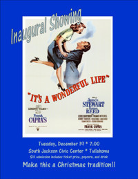 It's A Wonderful Life Movie Showing in Nashville