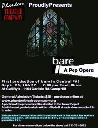 Bare - A Pop Opera in Central Pennsylvania