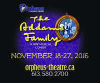 The Addams Family in Ottawa