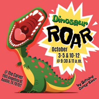 Pollyanna Theatre presents Dinosaur Roar in Austin