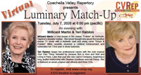 Coachella Valley Repertory Presents Luminary Match-Up in Los Angeles
