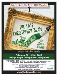 The Late Christopher Bean in Philadelphia