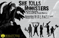 She Kills Monsters in Arkansas