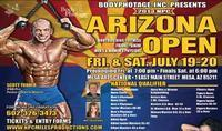 Bodyphotage, Inc. Presents 2013 Arizona Open in Broadway