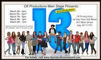 13 the Musical MAIN STAGE in Long Island