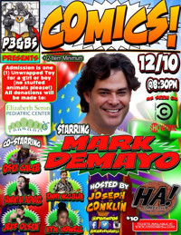 COMICS! Toy Drive Comedy Show  in Rockland / Westchester
