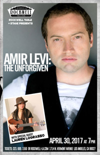 Amir Levi: The Unforgiven, with Special Guest Lauren LoGrasso in Broadway