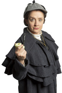 Miss Holmes in Broadway