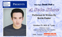 A Solo Show by Kevin Foster in Sacramento