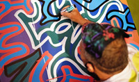 Eye Candy featuring new work by New York City graffiti pioneer, LA2 (Angel Ortiz)  in Miami