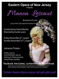 Manon Lescaut in New Jersey