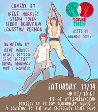 Picture This! LIVE ANIMATED ONLINE COMEDY in Los Angeles