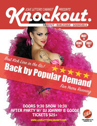 Love Letters Cabaret presents KNOCKOUT in Toronto