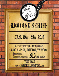 3rd Annual Fade To Black Reading Series in Houston