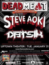 STEVE AOKI w/Datsik in Kansas City
