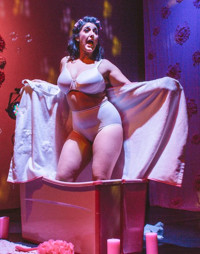 Burnt-Out Wife in Off-Off-Broadway