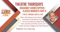 Broadway Showstoppers: Classic Moments Part II in Los Angeles