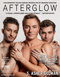 Afterglow in Salt Lake City