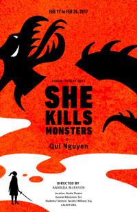 She Kills Monsters in Broadway