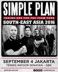 Simple Plan South-East Asia Tour 2016 in Indonesia